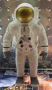 Astronaut figures - photo copyright 1999 Earl Green / theLogBook.com