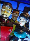 Star Trek action figures - photo copyright 2006 Earl Green / theLogBook.com