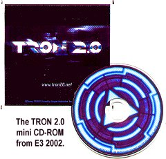 Tron (2002) E3 swag - photo copyright 2002 Earl Green / theLogBook.com