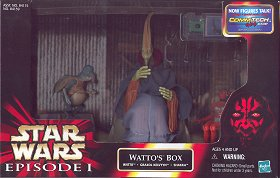 Star Wars Watto's Box Cinema Scene - photo copyright 2000 Earl Green / theLogBook.com