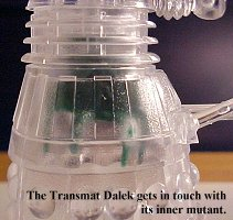 Transmat Dalek - photo copyright 2000 Earl Green / theLogBook.com