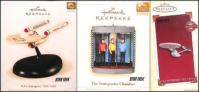 Hallmark Star Trek Christmas Ornament 2006 - photos copyright 2006 Earl Green / theLogBook.com