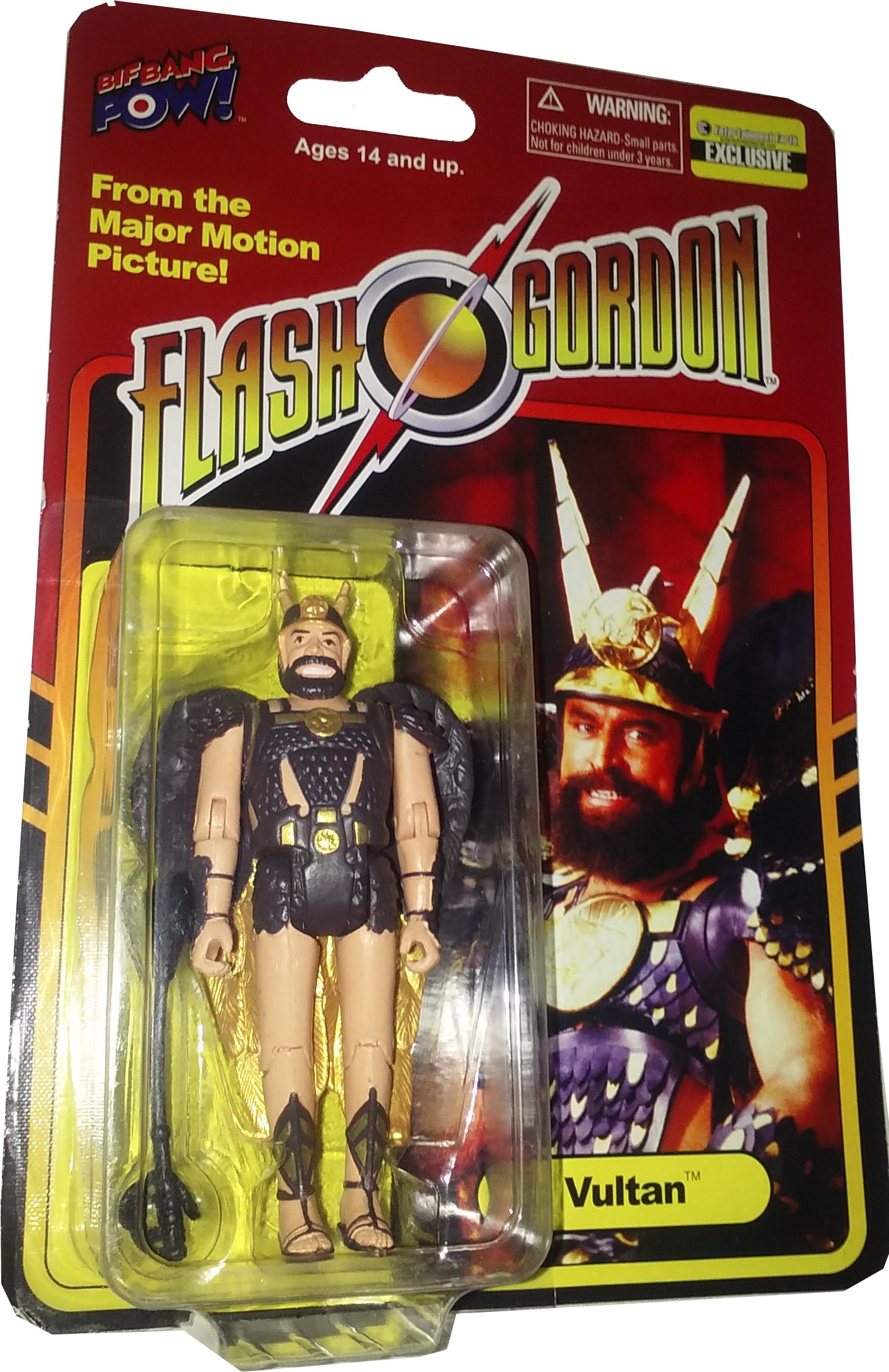 Bif Bang Pow! Flash Gordon figures - Prince Vultan