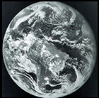 Earth seen from GOES-1